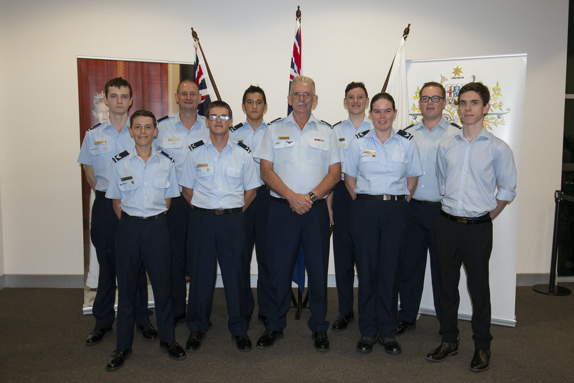 Livingstone Shire Council Australia Day Awards Cadets