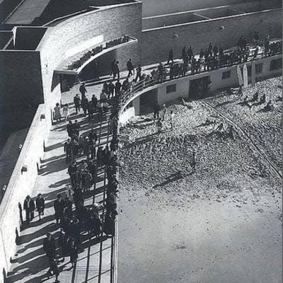 Historical aerial Marine Parade