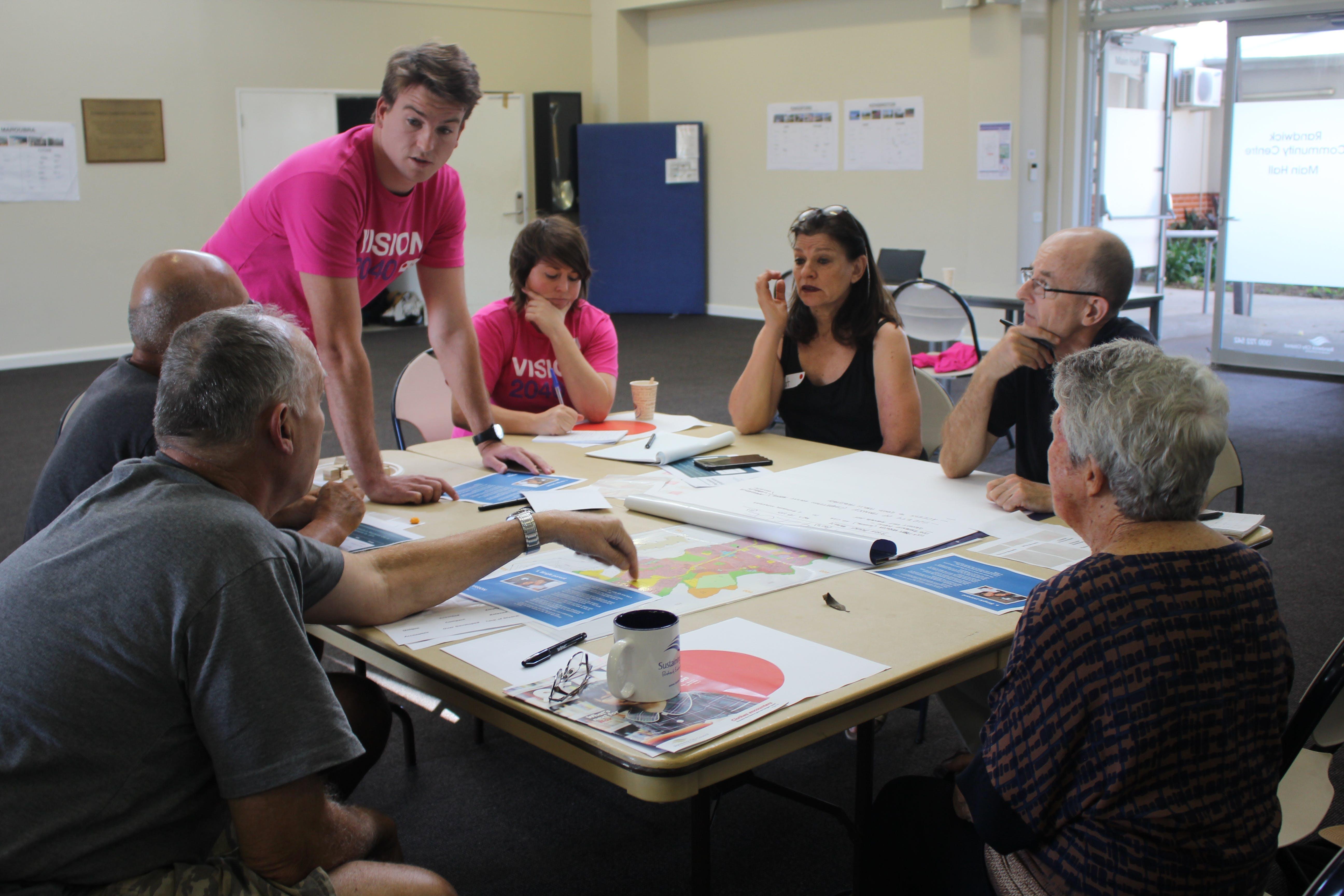 Vision 2040 community workshop