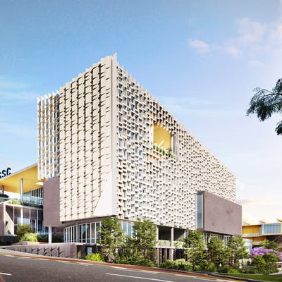 An artist impression of the creative hub on Annerley Road