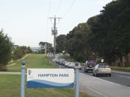 Pound Road and Shrives Road intersection - Hampton Park