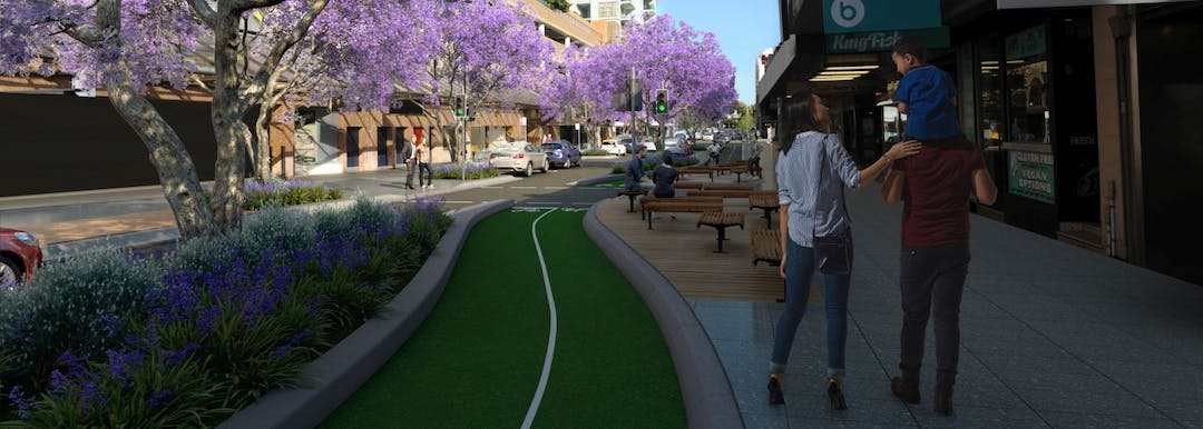 Bondi Junction Cycleway and streetscape upgrade