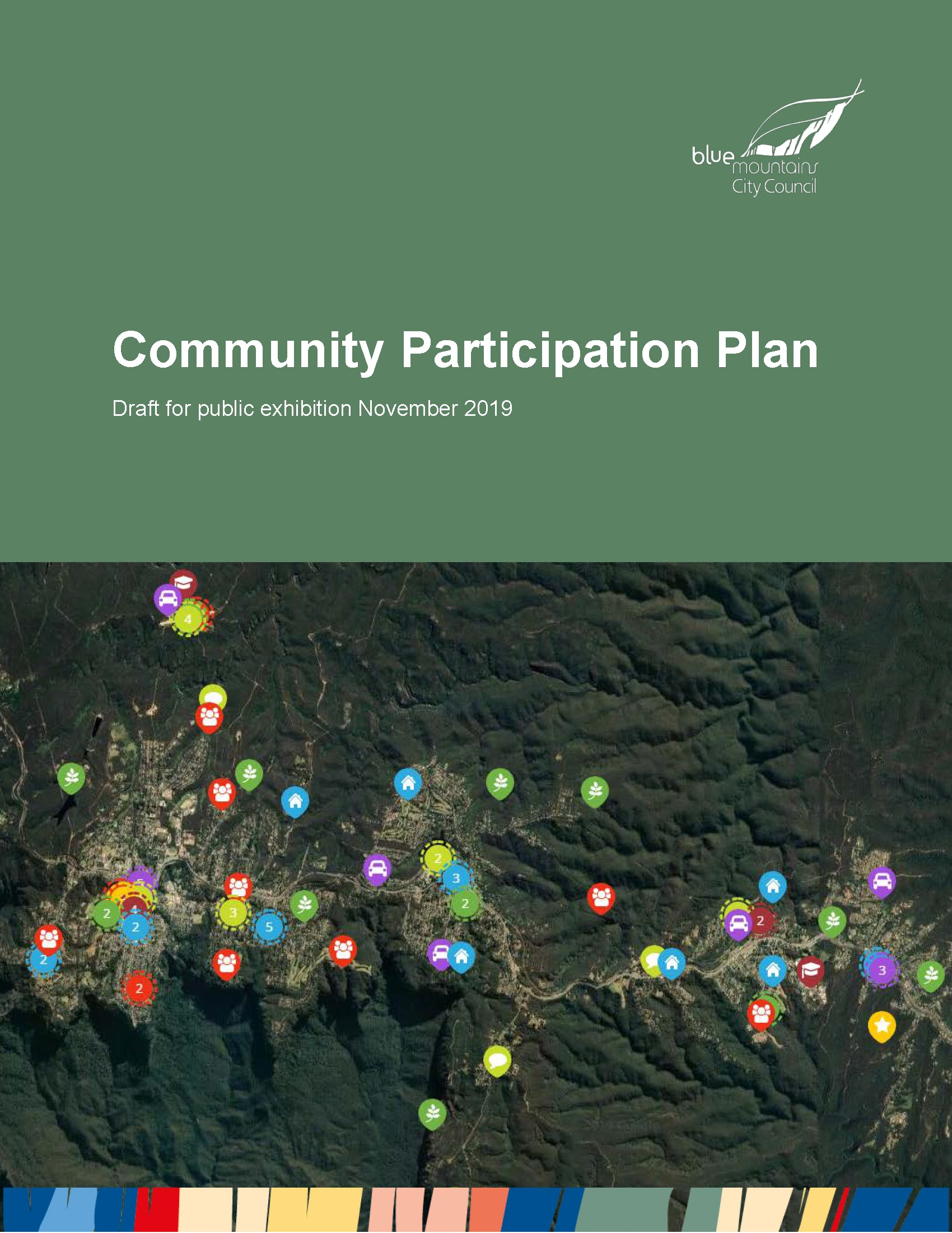 Cover: Draft Community Participation Plan