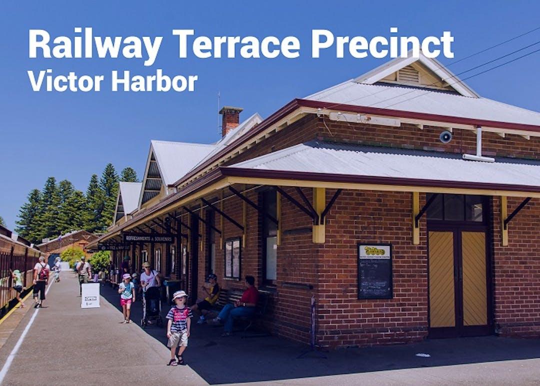 Railway precinct