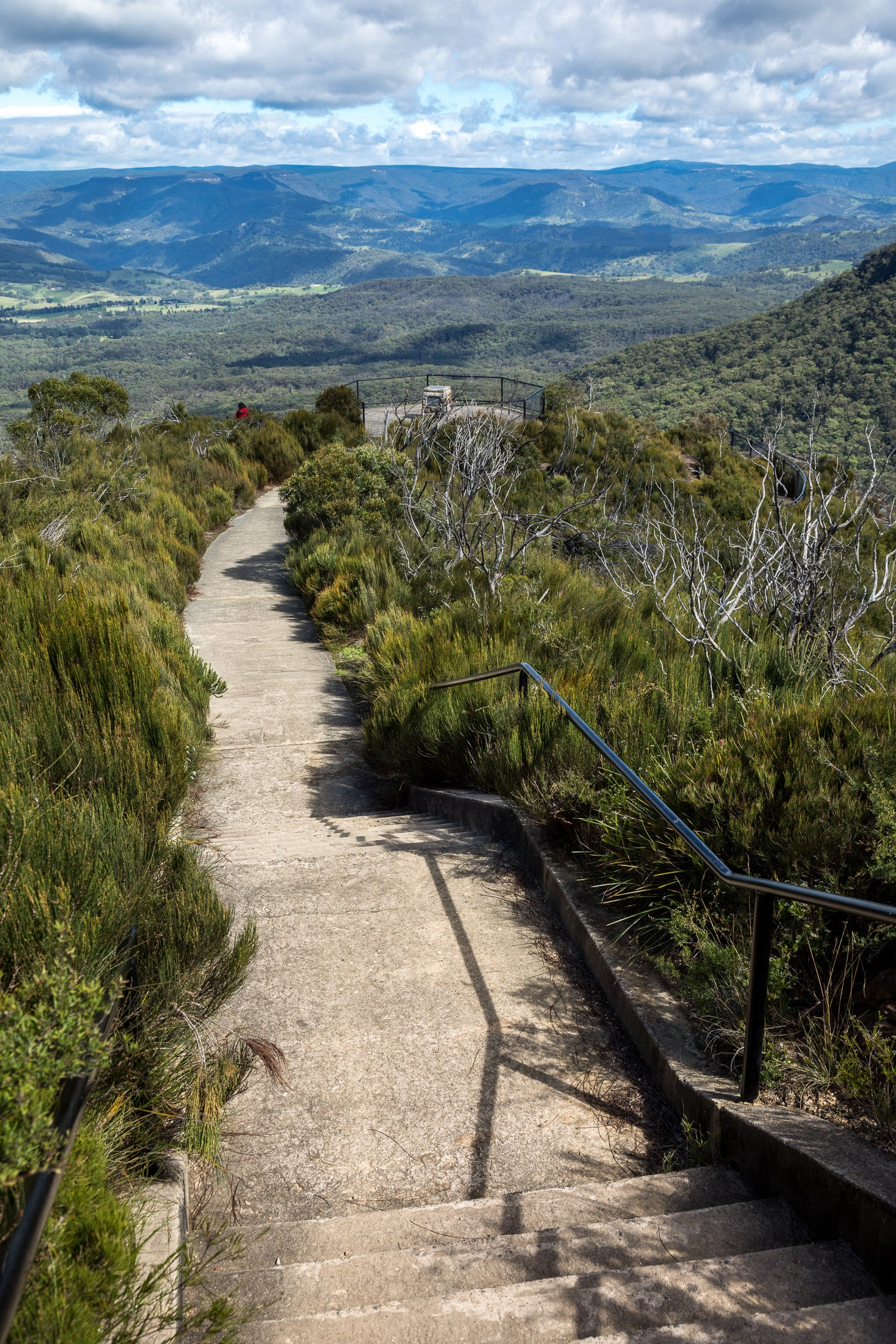 Path to Cahill's Lookout Katoomba