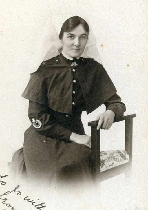 Nurse Clare Stephanie Fitzpatrick