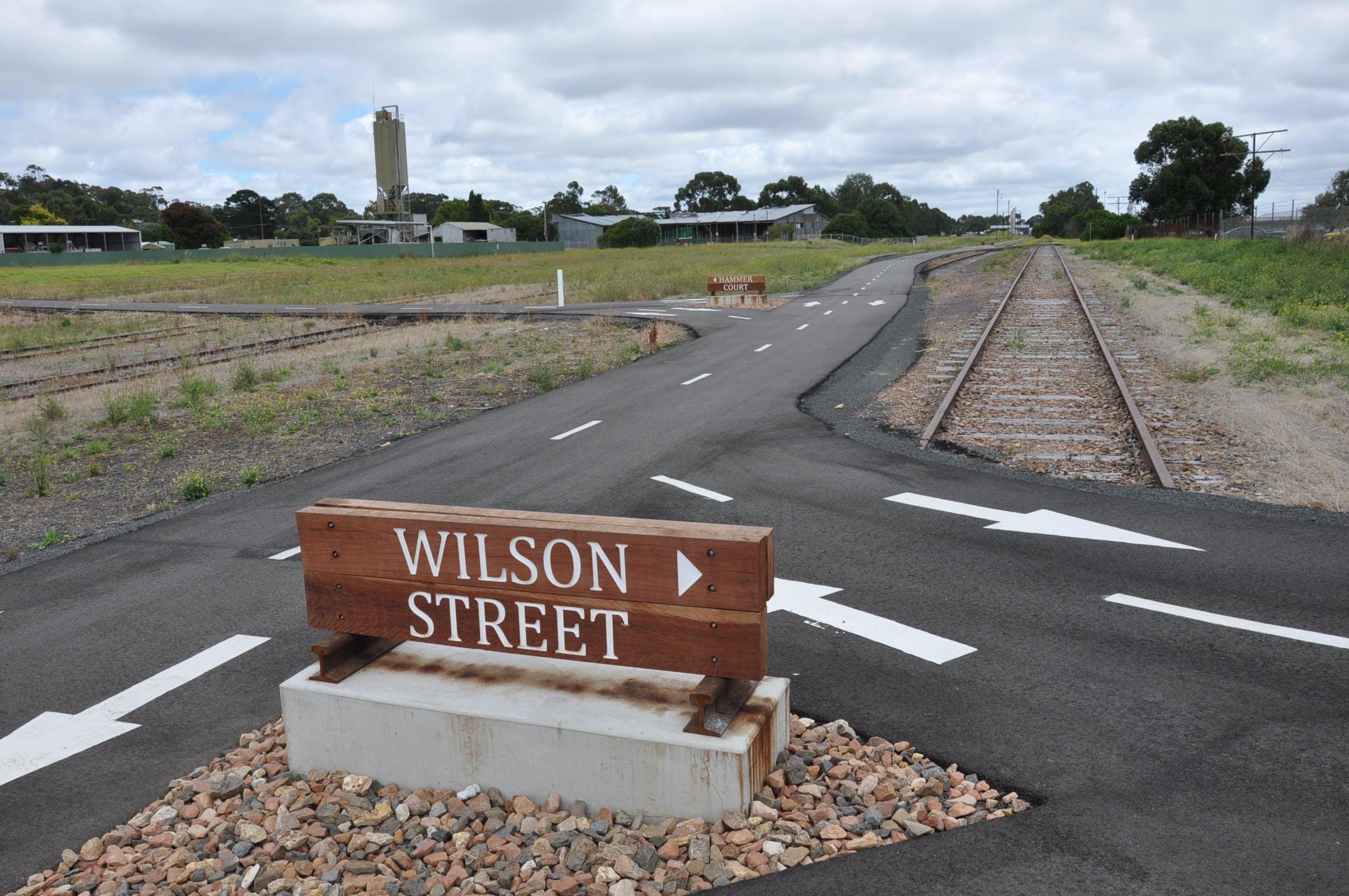 Rail Trail Signs
