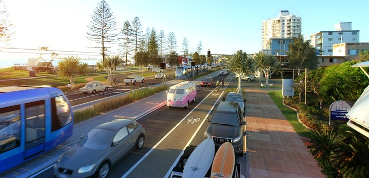 Light Rail Transforming Alexandra Parade