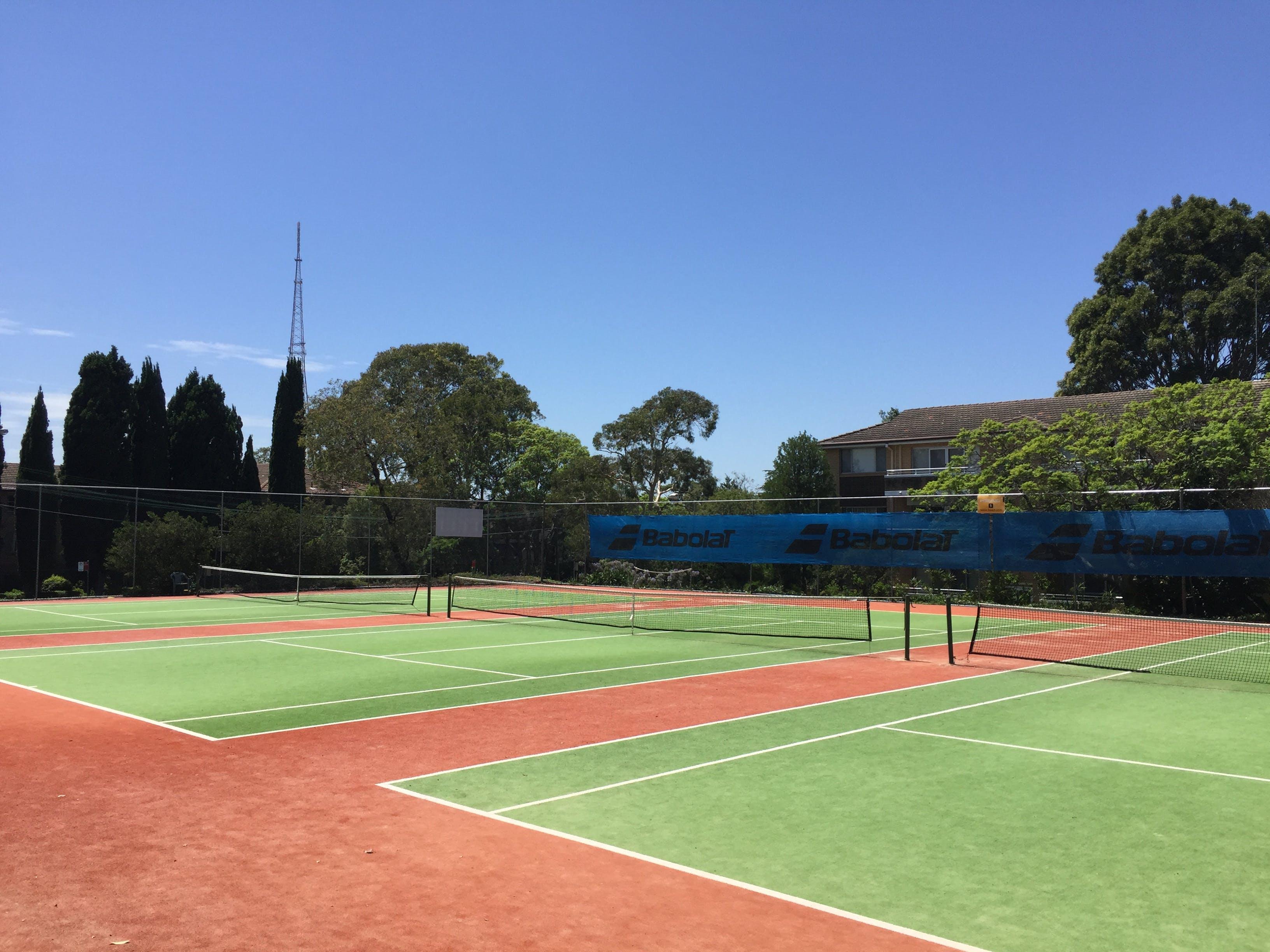 Cleland Park tennis courts