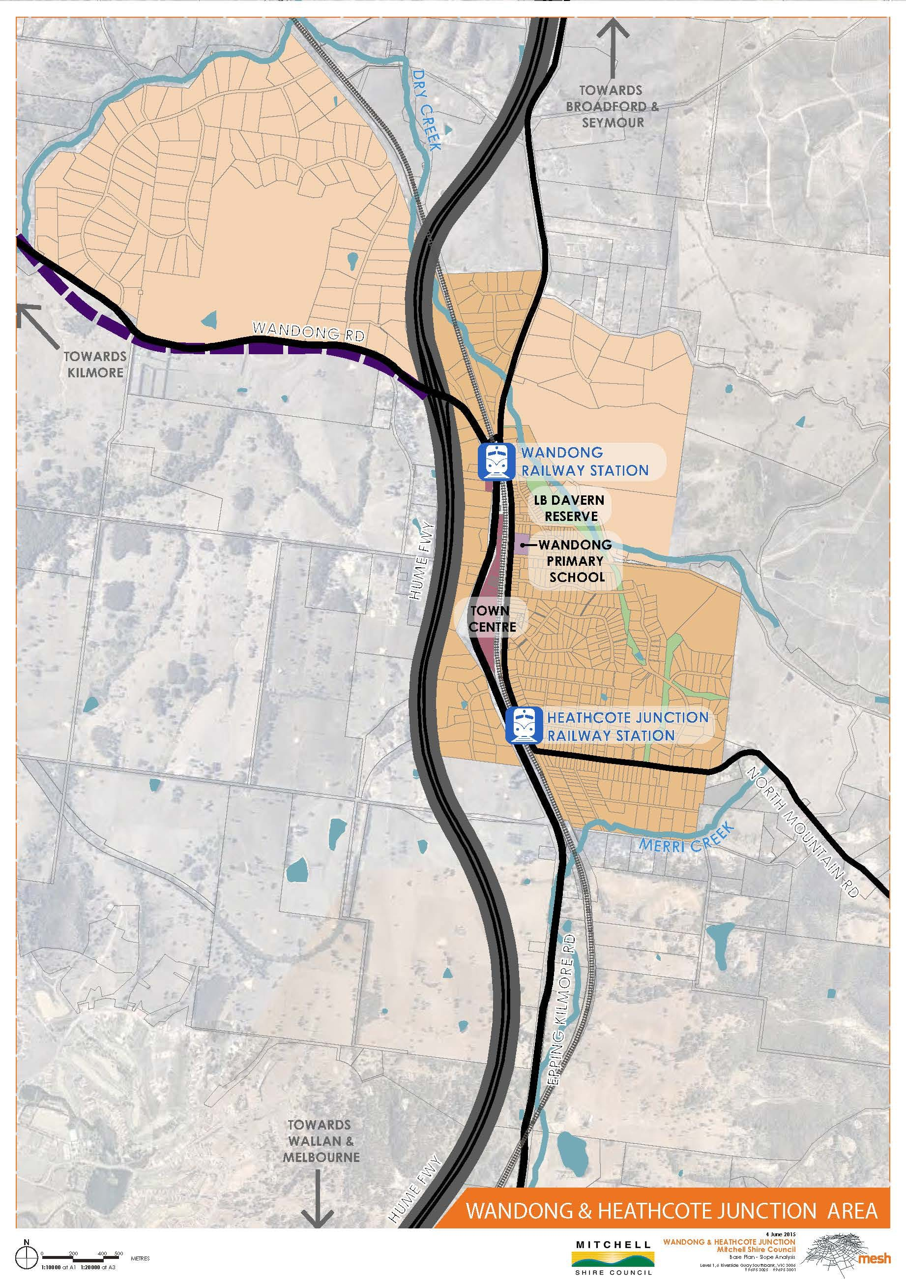 Wandong Heathcote Junction Context Plan