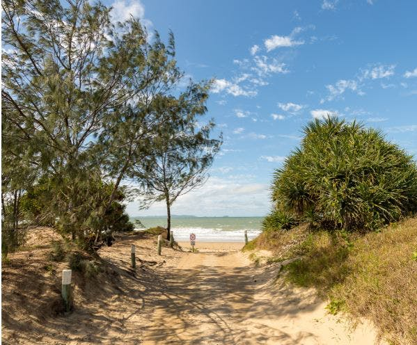 Bangalee Beach Access