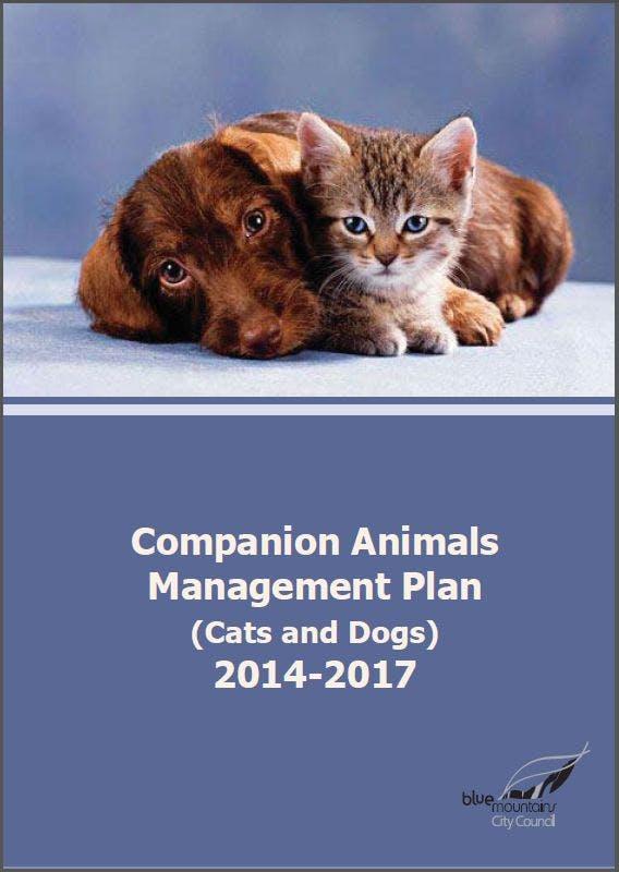 Draft Companion Animals Plan 14/17