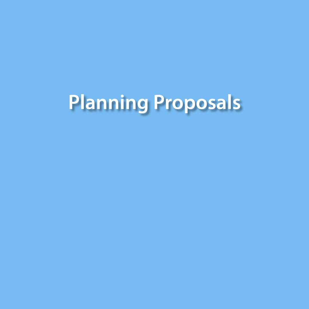 Recently Exhibited Planning Proposals