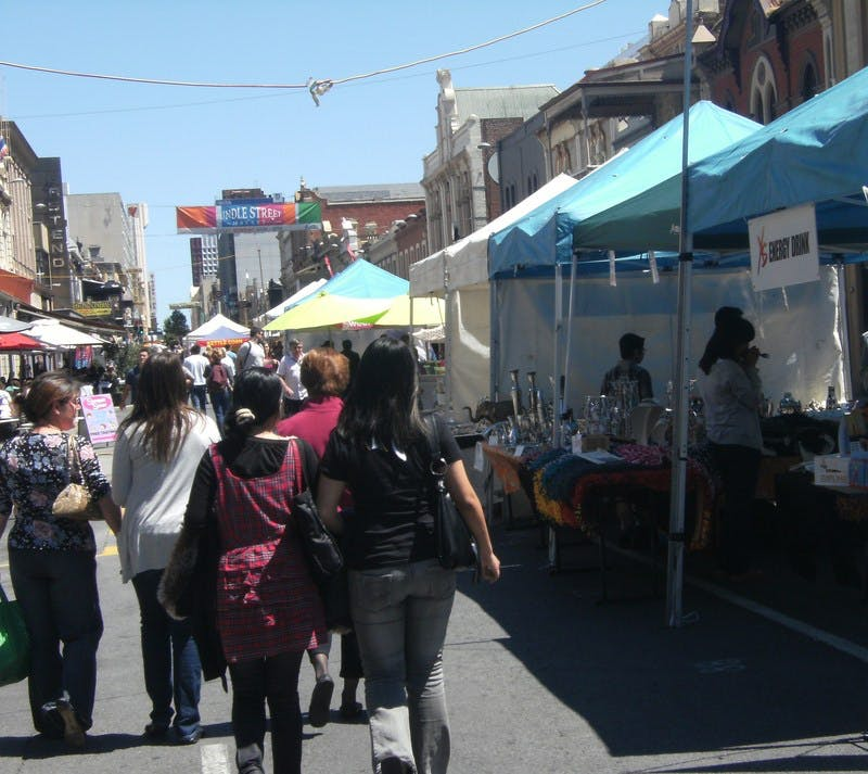 Outdoor markets example 1