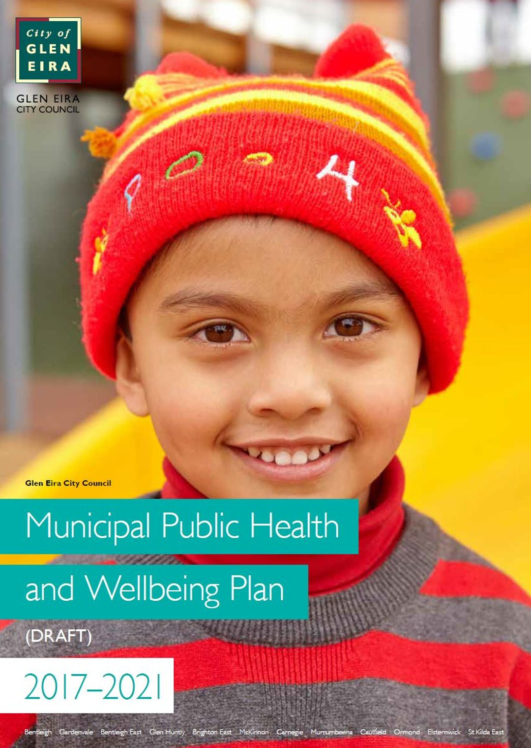 Front cover of draft Health Plan