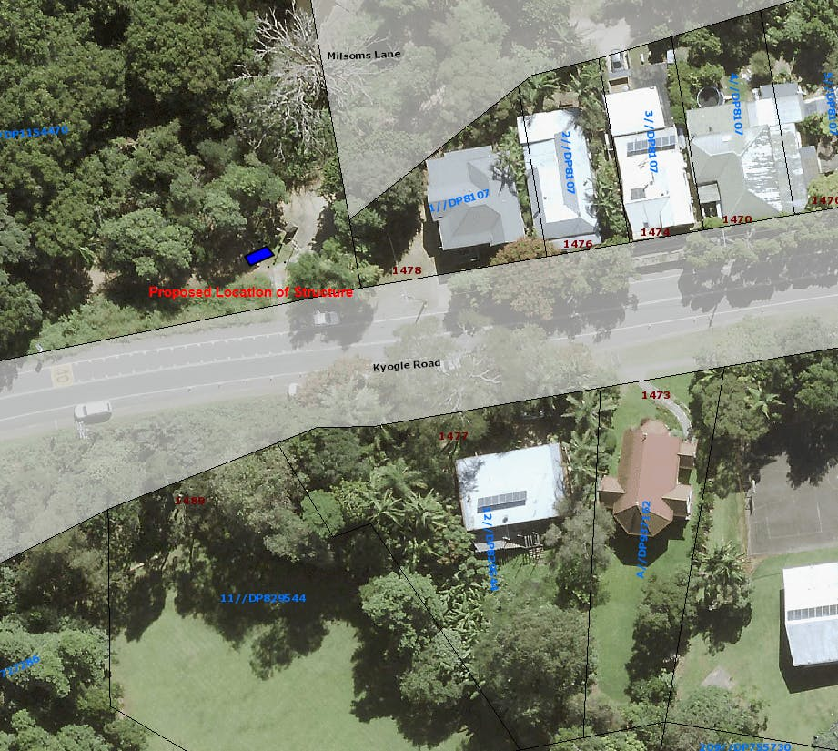Kyogle Road   Site Locality