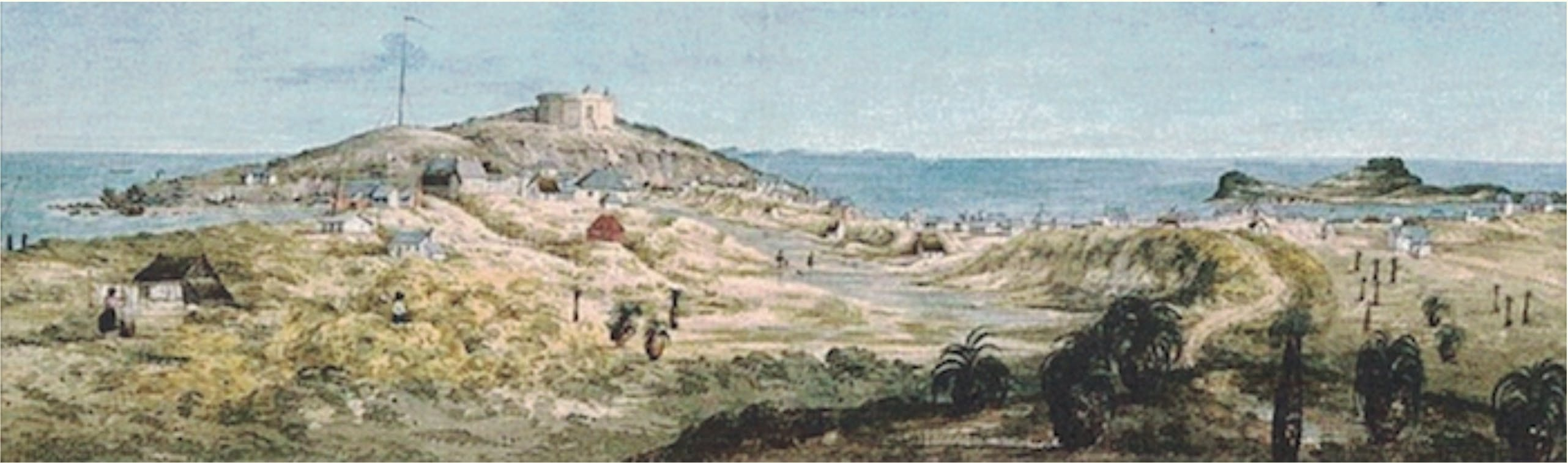 Panorama of the Swan River Settlement