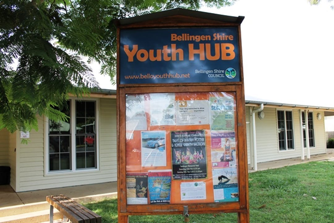 Bellingen Shire Youth Hub Building