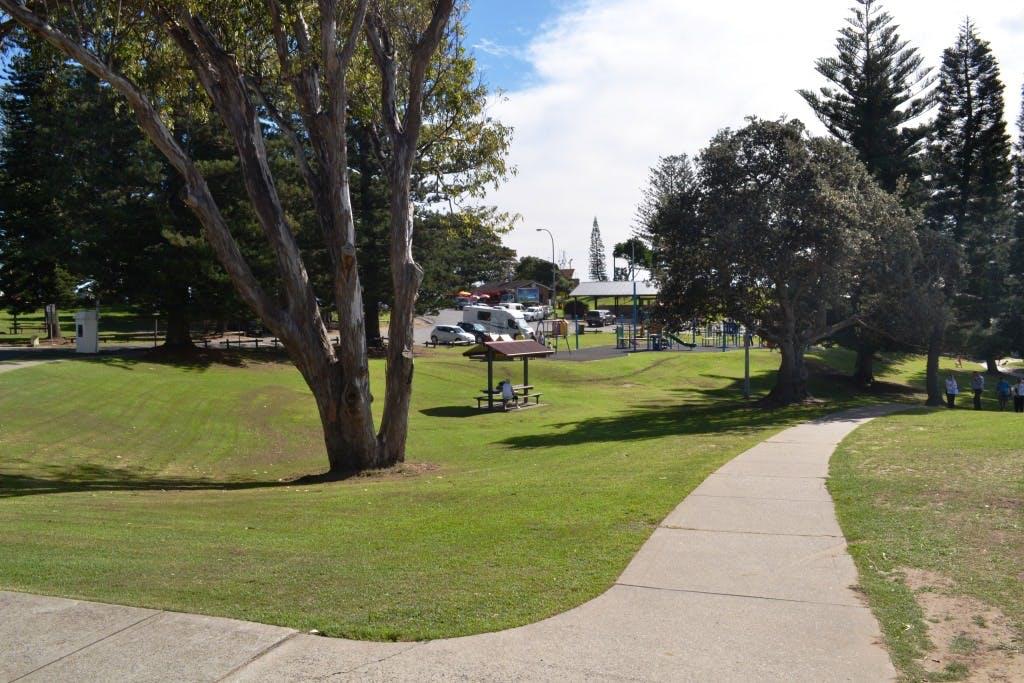 Playground footprint