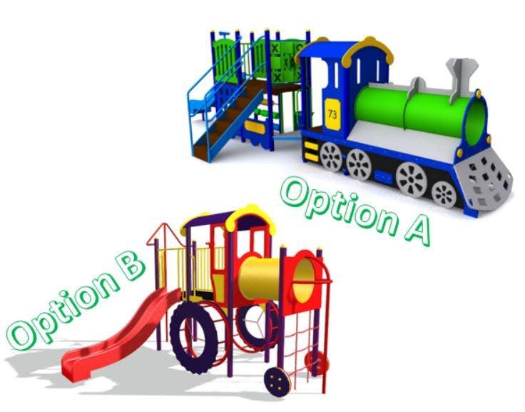 Option rotary oval