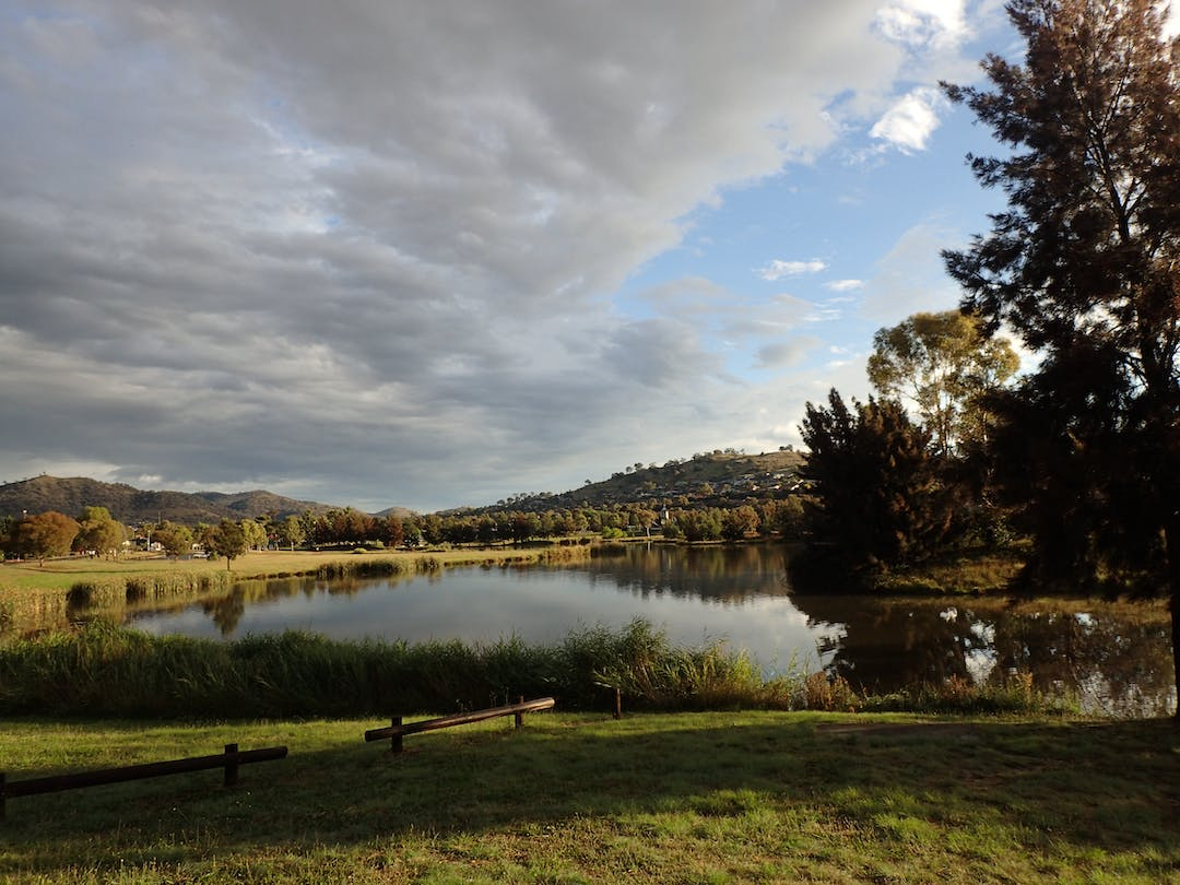 Example of a stormwater treatment area in Canberra