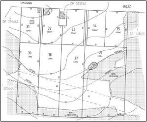 Original Concept Plan Of Subdivision