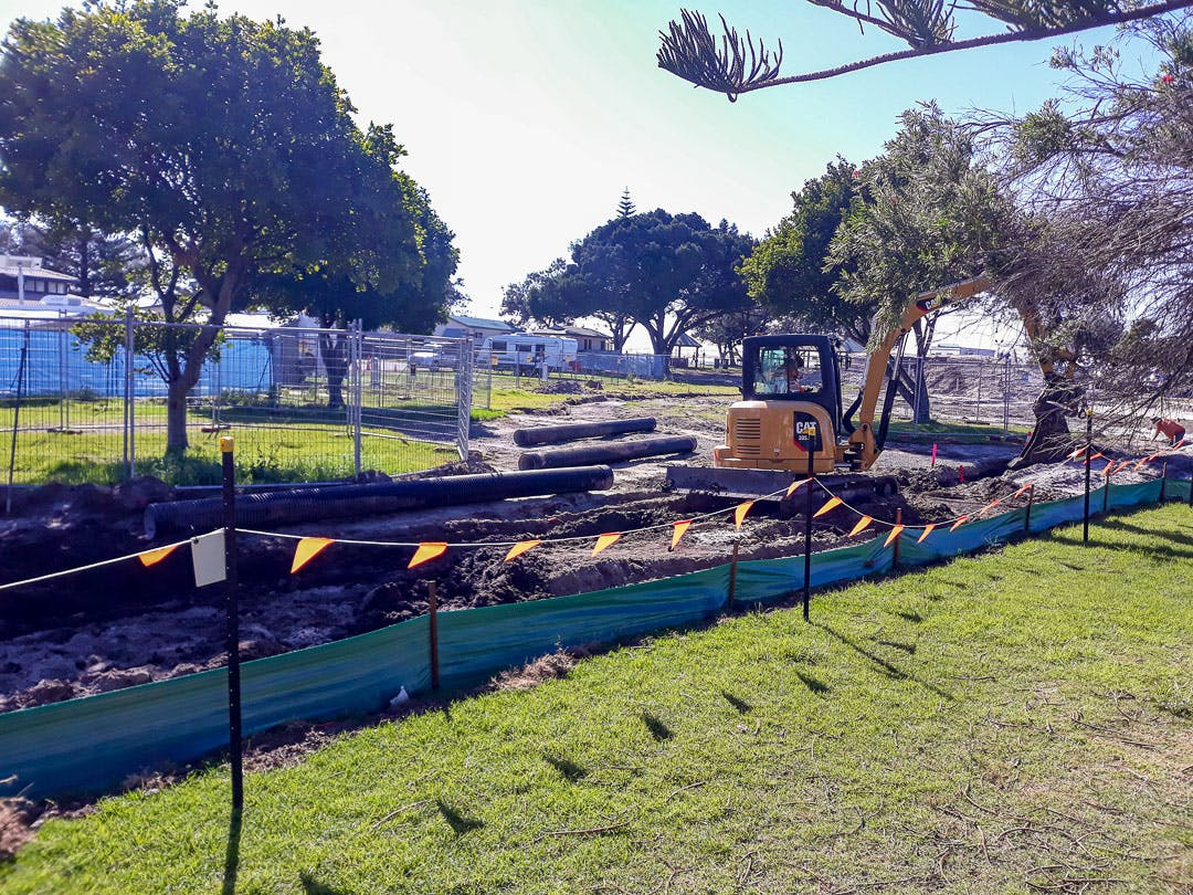 Civil works continue July 30