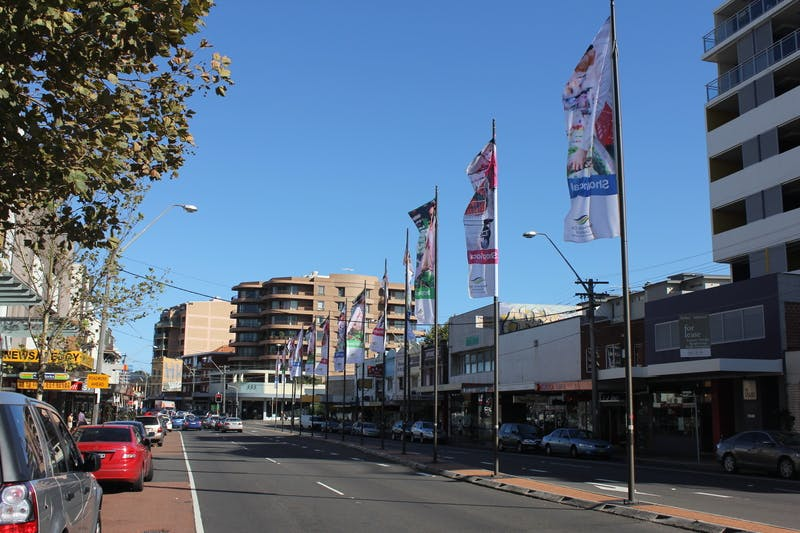 Improvements will be made to Kingsford Town Centre