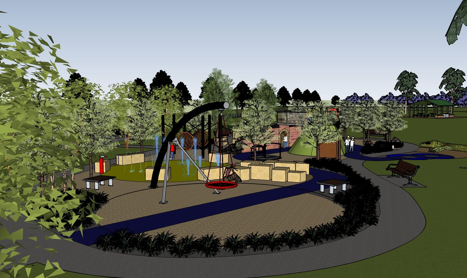 Council will be upgrading the playground at Governor Phillip Park Windsor, with the playground works to be completed in 2018.