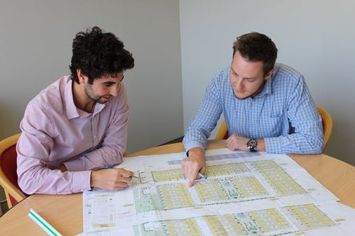 Planners at work