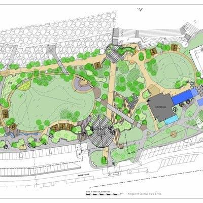 Central Park updated design July 2016