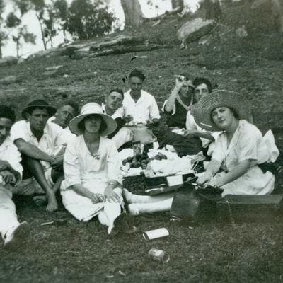 Picnic at Narrabeen 1920s