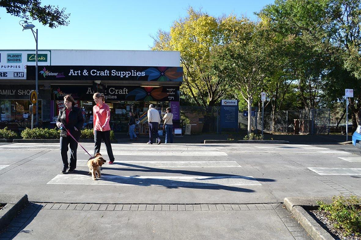 Macquarie Road Pedestrian Crossing