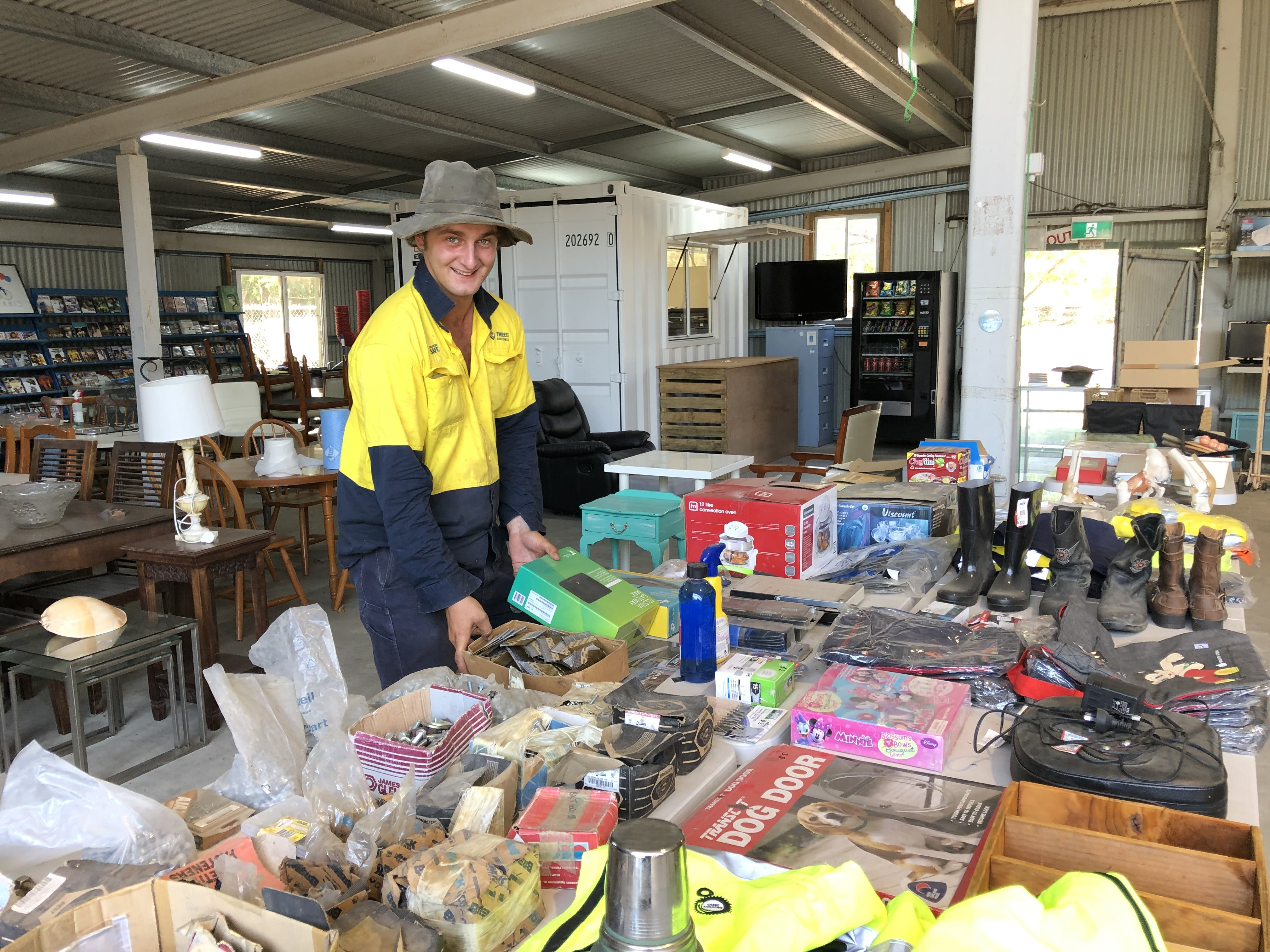 The Tip Shop at Stotts Creek Resource Recovery Centre diverts items from going to landfill