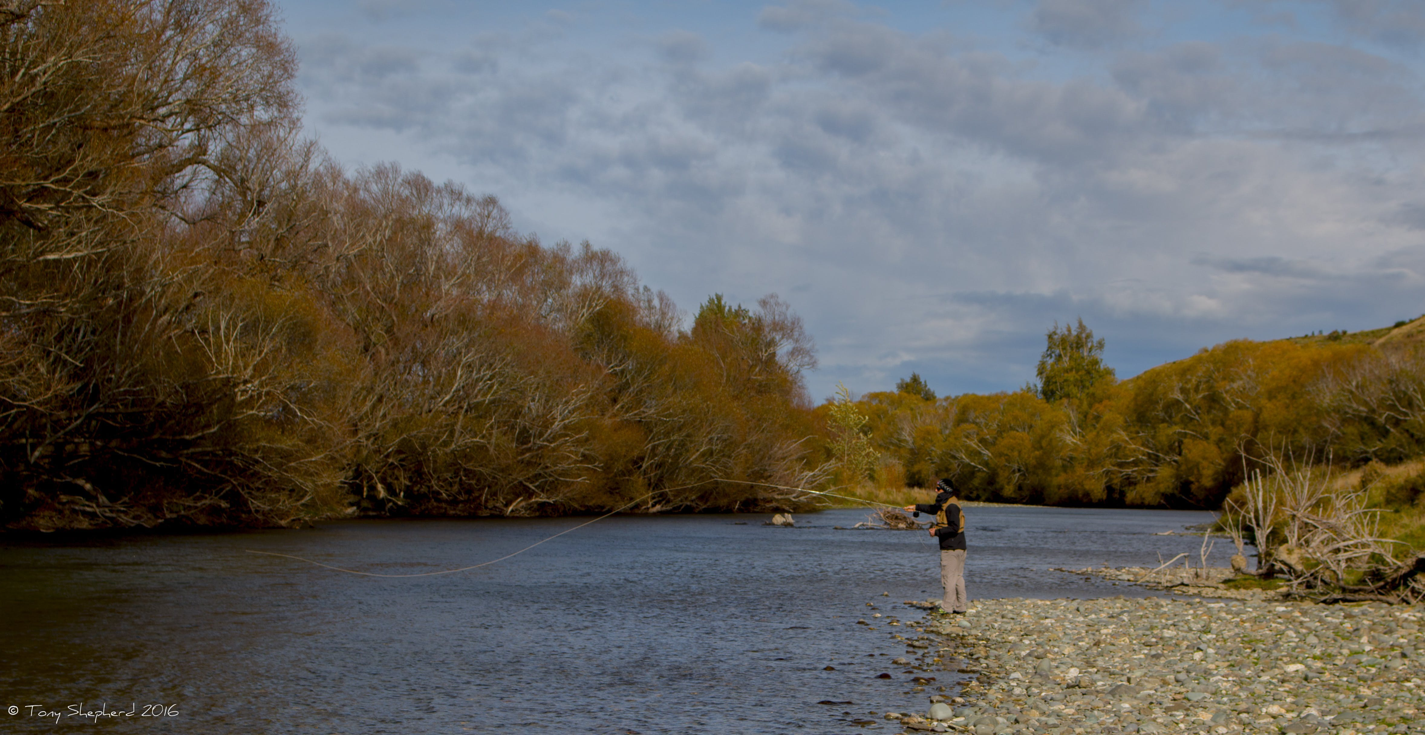 WINNER OPEN - Mataura River fly fishing early autumn