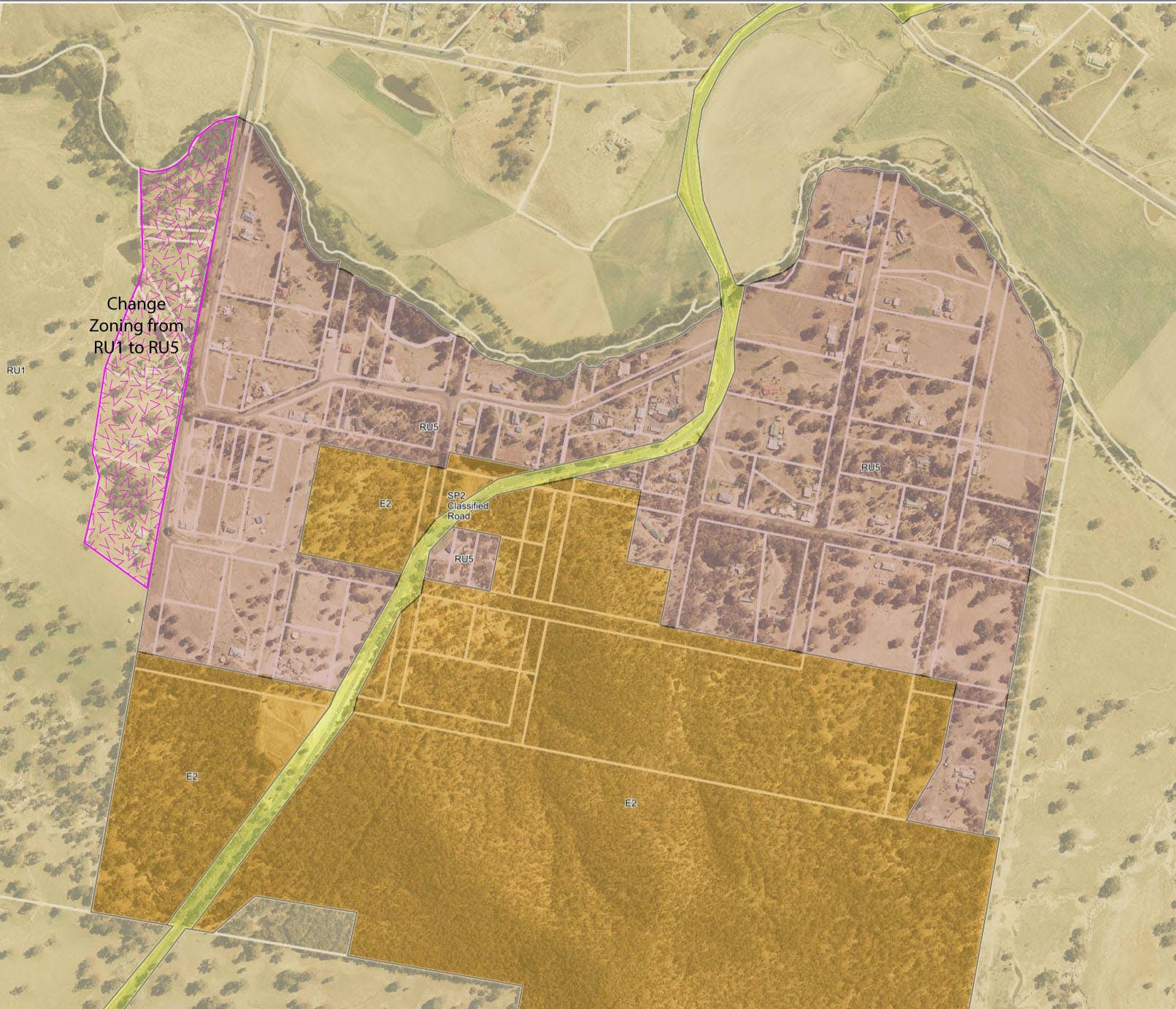 Proposed Changes to Land Use Zoning