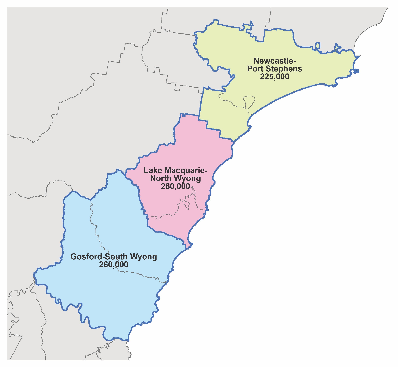Regional solution map