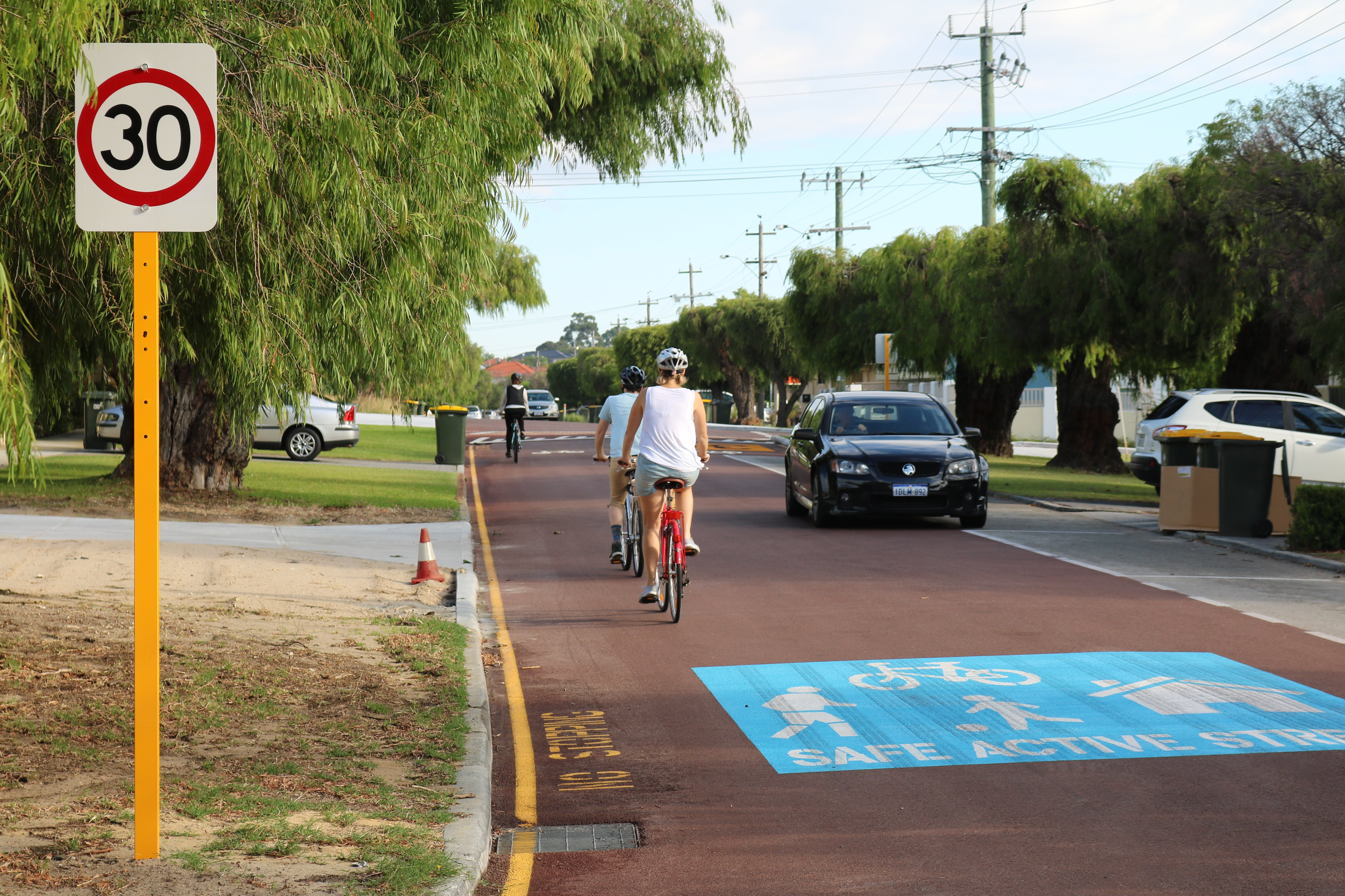 Cycling - Shakespeare St Bike Blvd - 08