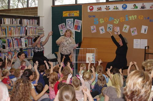 Storytime at Springwood Library