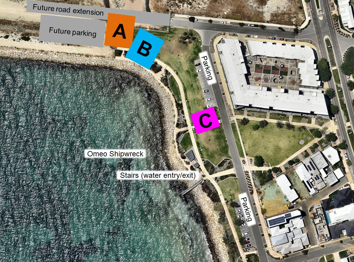 Amenity Location Options