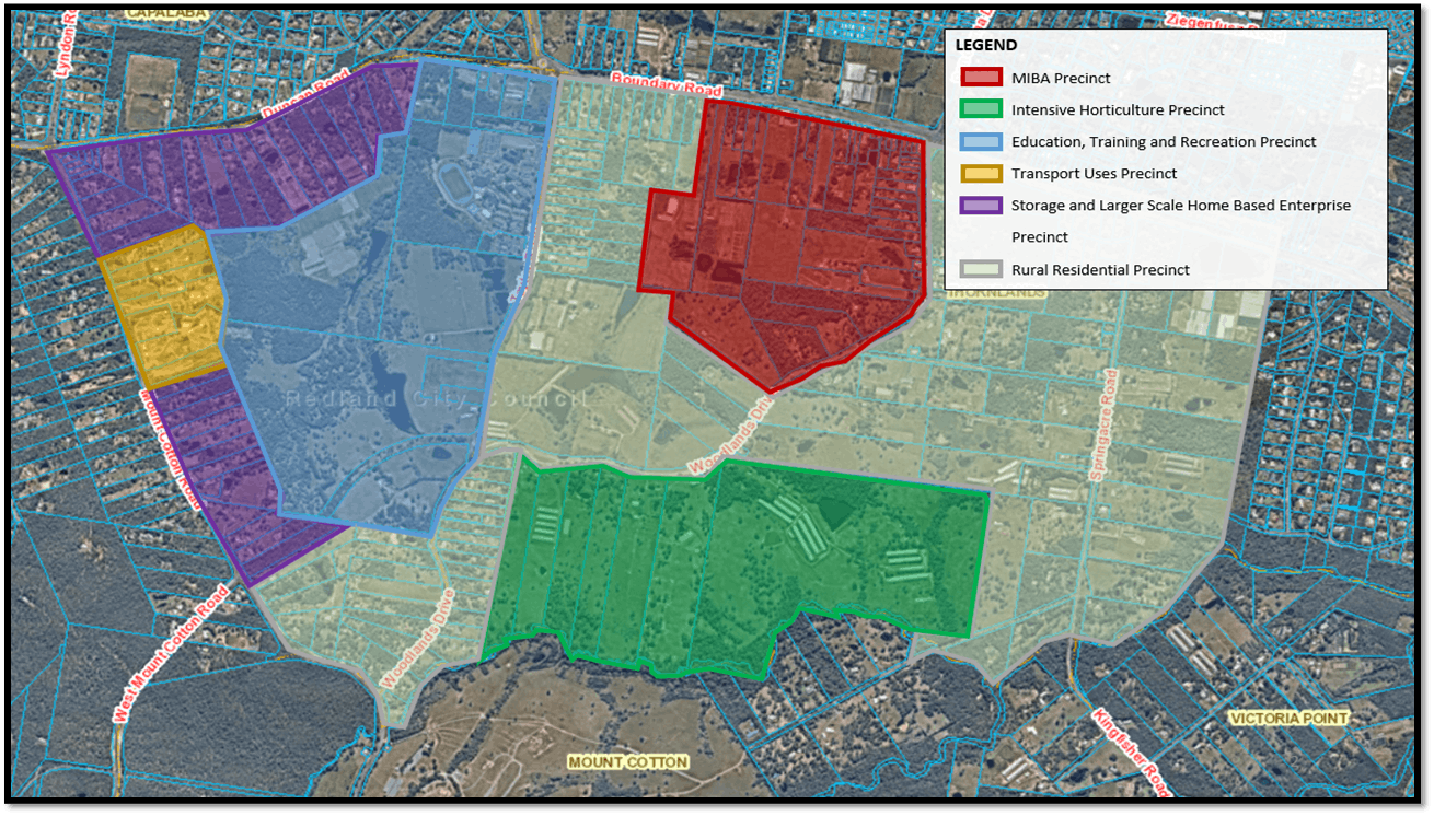 Council's proposed land use map – public consultation version