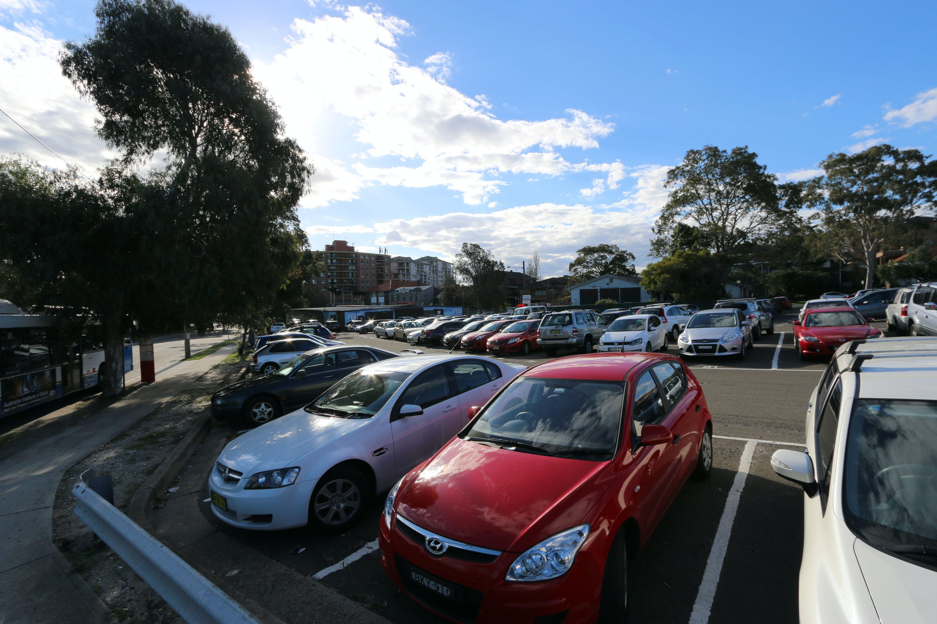 Kingsford site of proposed multi-storey car park