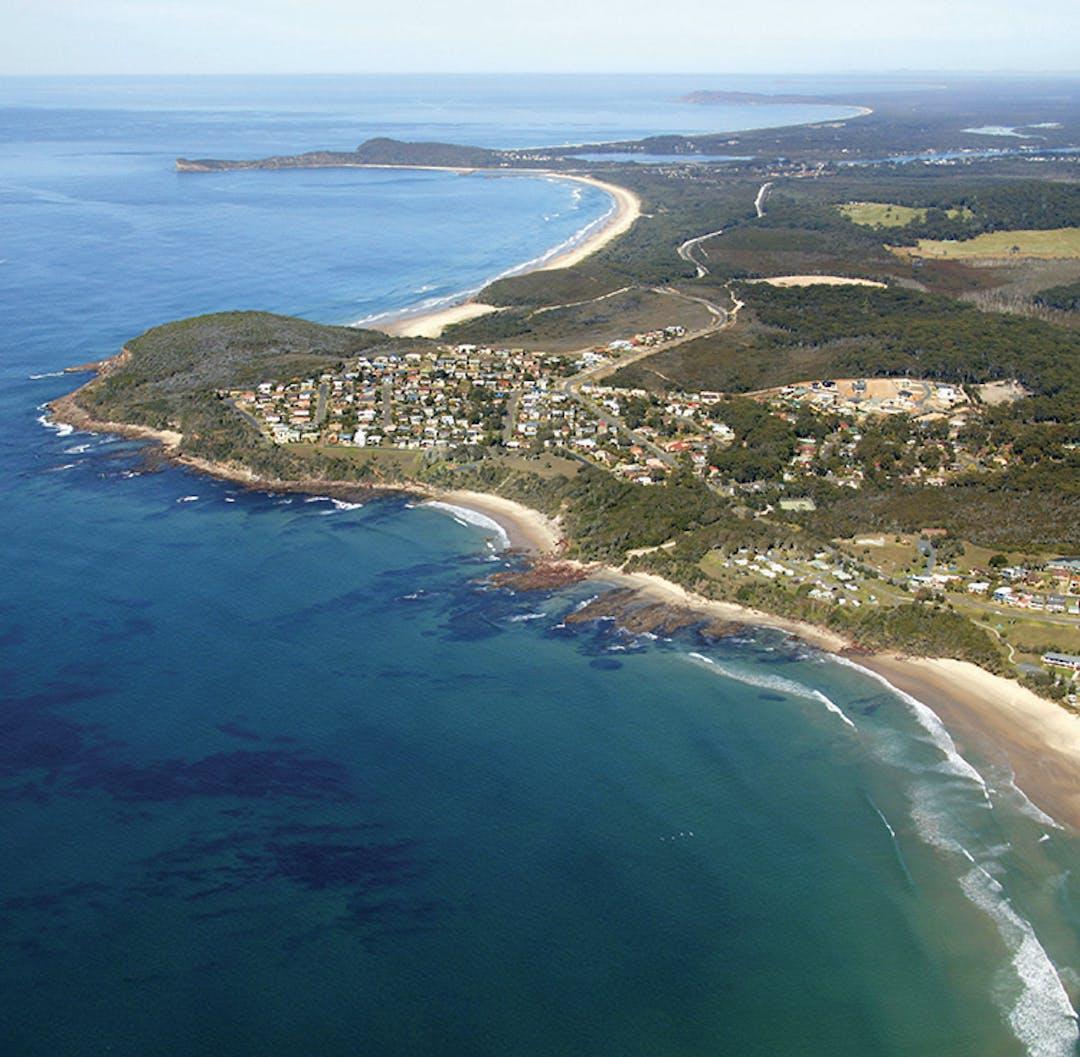 Bonny Hills coastline
