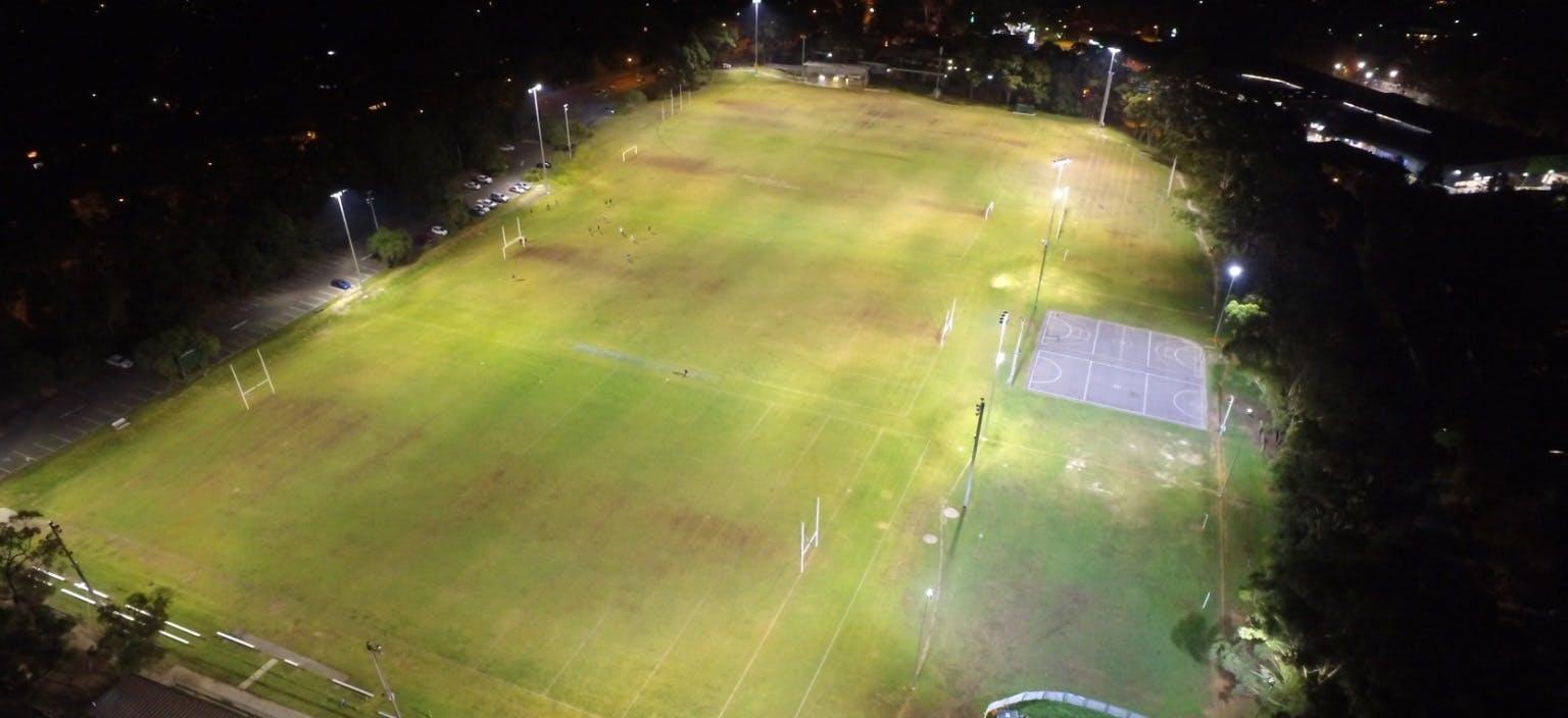 Sportsground lighting 201718