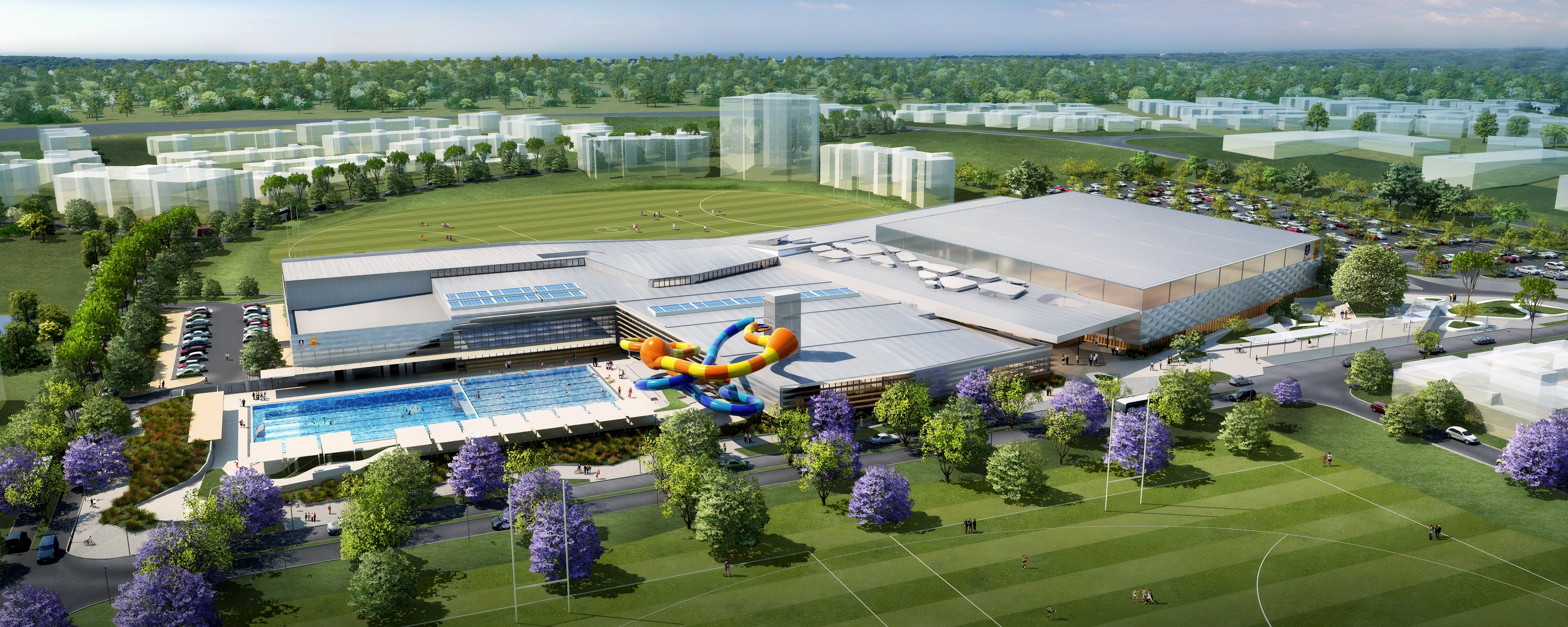 Artist's Impressions - all facilities