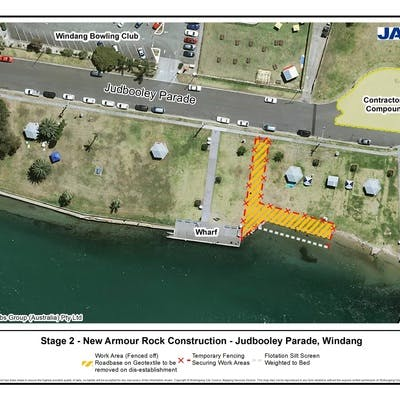 Stage 2: New Armour Rock Construction - Judbooley Parade, Windang