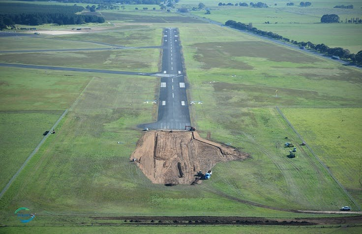 Runway Extension Aerial