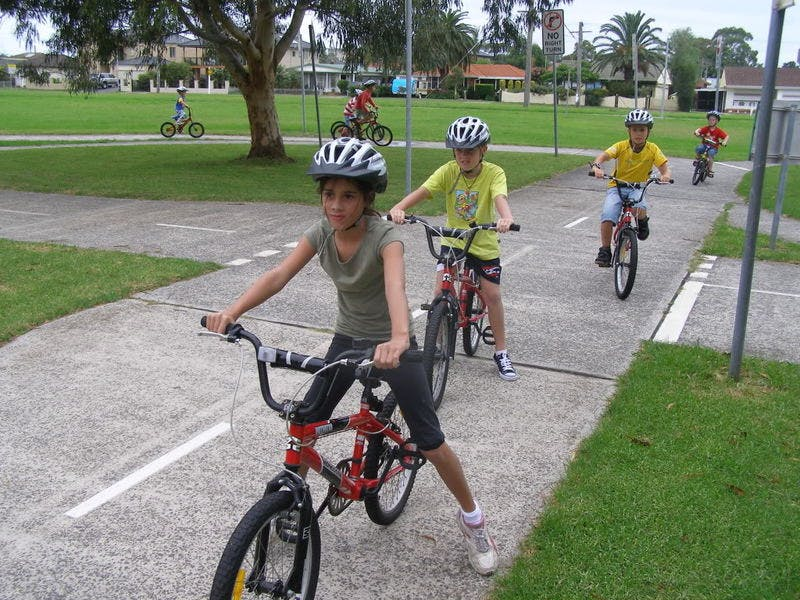Bluescope Steel Bicycle Education park