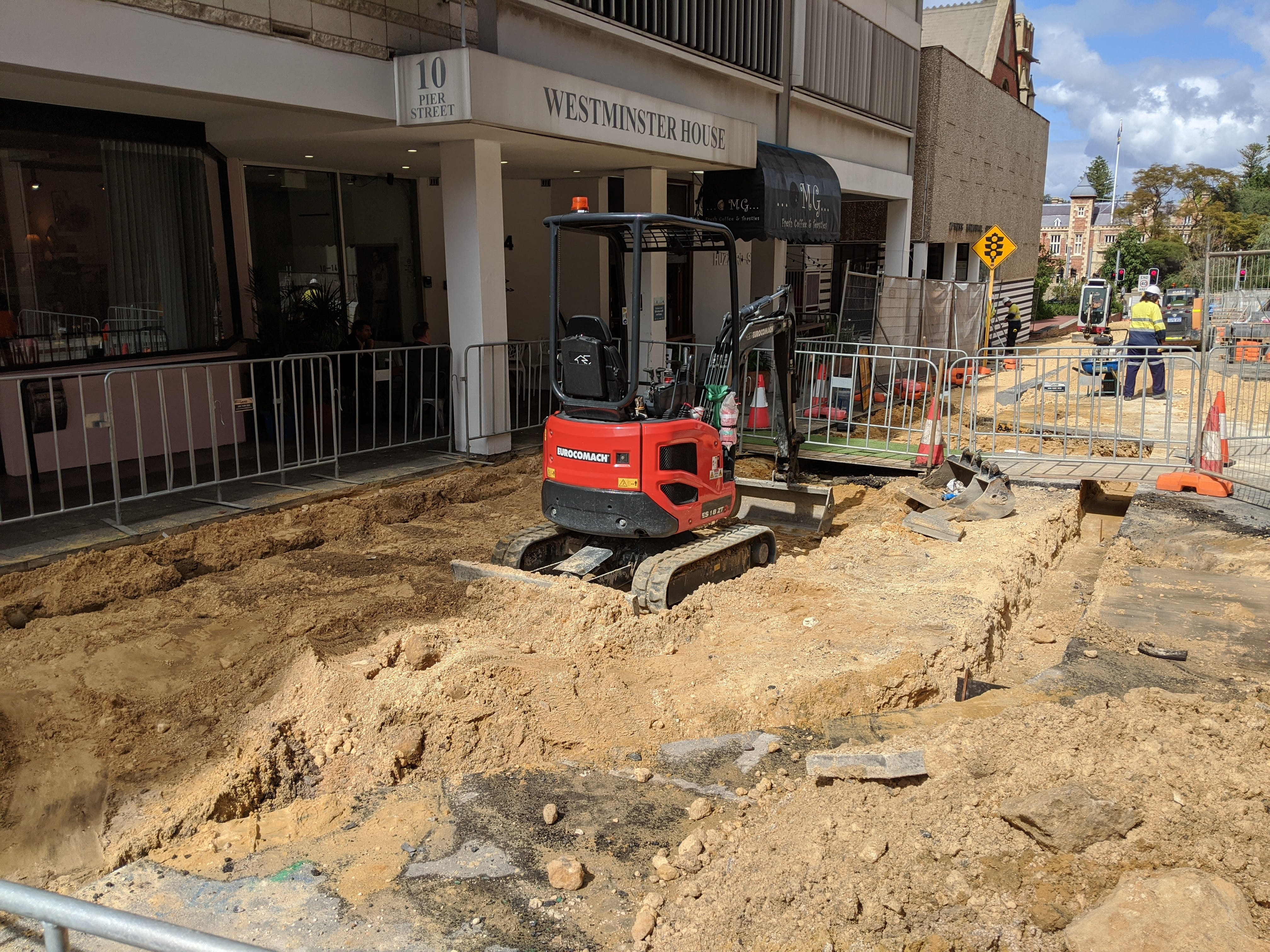 WIdening the footpath on Pier Street to support outdoor dining.jpg
