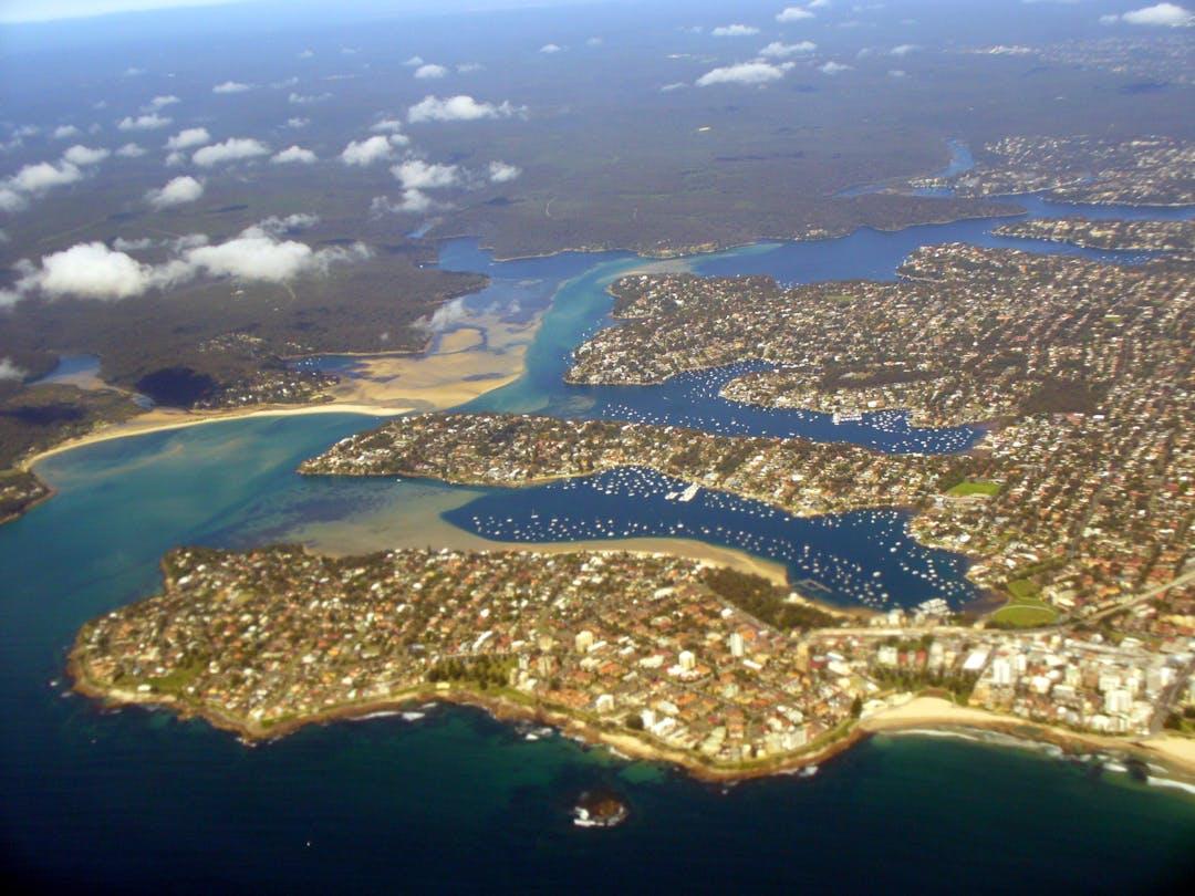 2015 09 01 port hacking estuary aerial photo %28a3061022%29